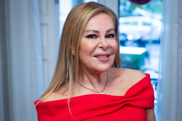 La actriz Ana Obregón en Madrid, en una imagen de