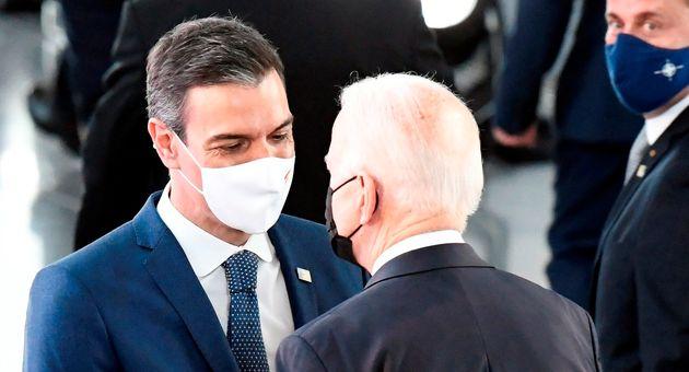 Pedro Sánchez y Joe