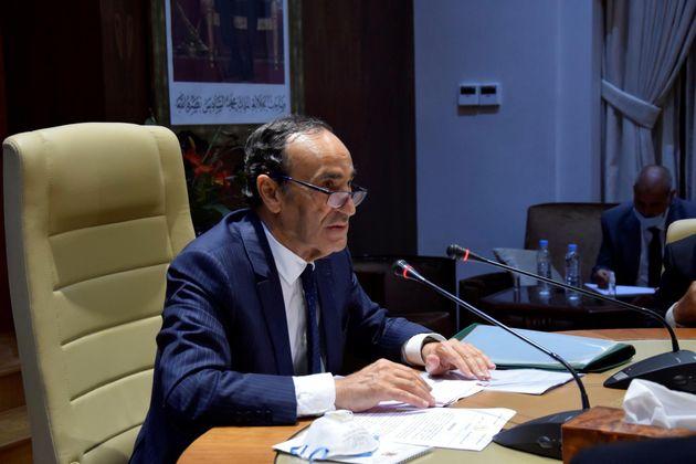 El presidente de la Cámara de Representantes marroquí, Habib el