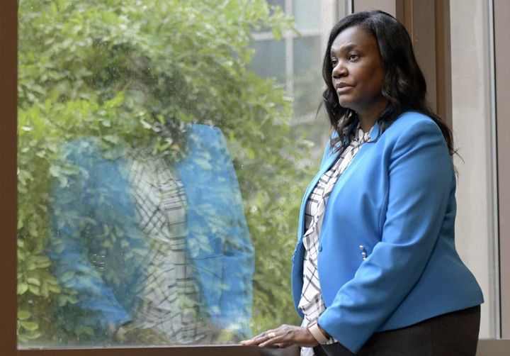 Yolanda Ogbolu, a nurse researcher at the University of Maryland, Baltimore, who advocated for two relatives during their COV