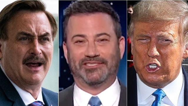 Jimmy Kimmel Spots The Weirdest Moments Of MyPillow Guy's Big Trump Rally.jpg