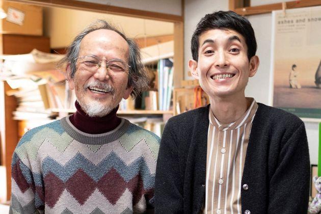 やべみつのりさんと矢部太郎さん