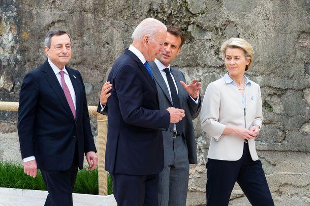 Μπάιντεν: Επανεκίνηση στις σχέσεις με Ε.Ε. και ενιαίο μέτωπο απέναντι στην