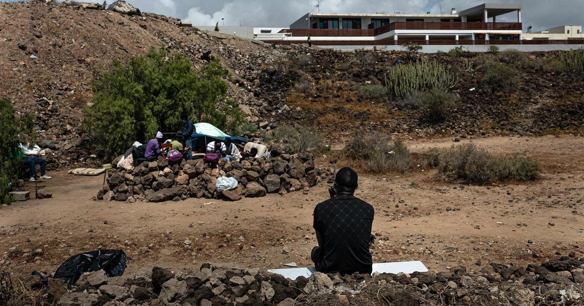 Ansiedad, hongos, sarna: lo que sufren los migrantes por la  nefasta acogida  de España