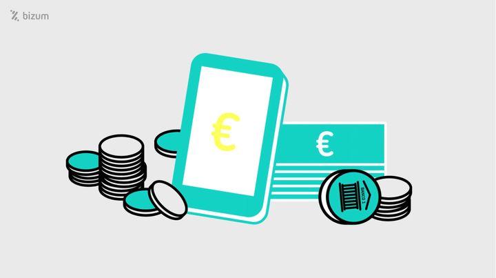 Bizum es un servicio para enviar dinero a través del teléfono móvil.