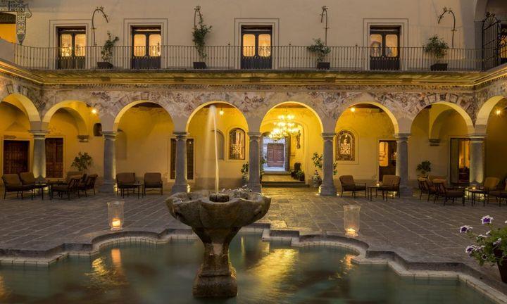 Hotel Quinta Real Puebla.
