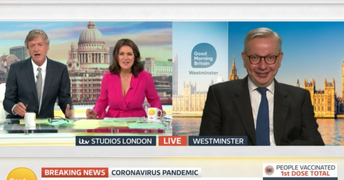 Michael Gove Faces A Double Grilling In Fiery BBC Breakfast And GMB Interviews
