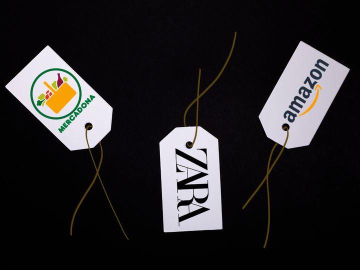 Logos de distintas marcas.
