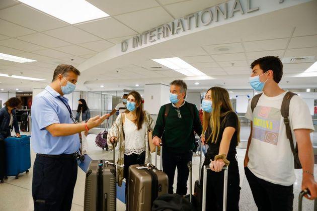 Ελεγχος σε αεροδρόμιο των