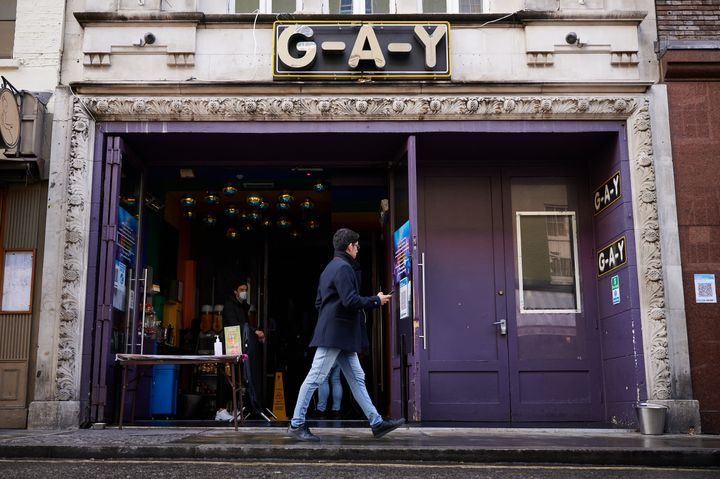London's G-A-Y Bar, one of the venues ran by Jeremy Joseph, the owner of the G-A-Y bar and nightclub group.