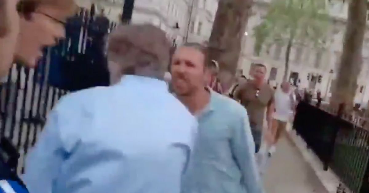Boris Johnson Condemns 'Disgraceful' Video Of BBC's Nicholas Watt Being Chased By Anti-Lockdown Protesters
