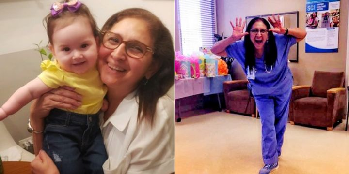 Isabelle Papadimitriou loved being a grandma. The frontline worker died of COVID-19 on July 4, 2020.