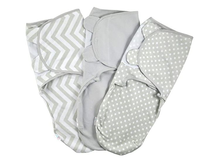 Baby Swaddle Wrap - Pack of 3 Swaddle Blankets
