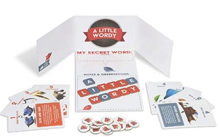 A Little Wordy Card Game
