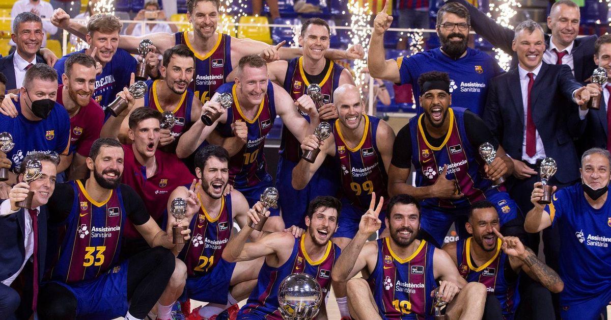 El Barcelona, campeón de la Liga Endesa de baloncesto