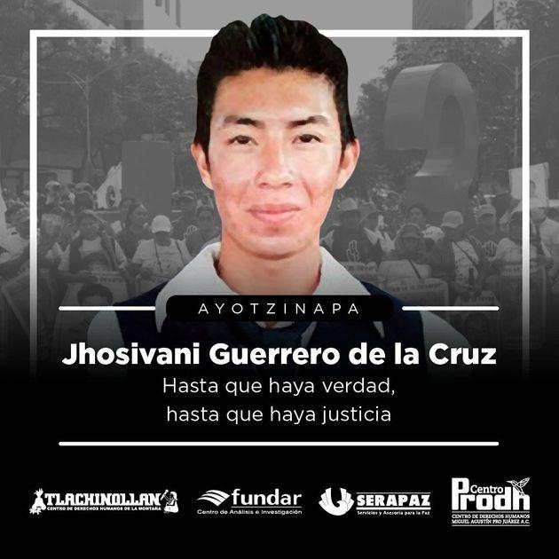 Jhosivani Guerrero de la Cruz, el último estudiante