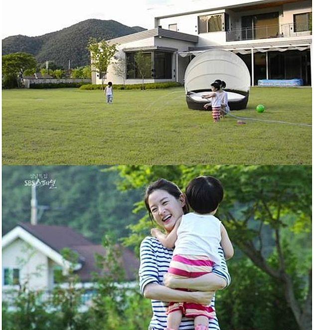 2014년 공개된 경기도 양평군 서종면 문호리에 위치한 이영애의