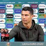 Ronaldo con il suo gesto fa crollare di 4 miliardi il valore di mercato della Coca