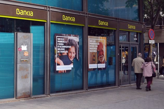 Una sucursal de Bankia en