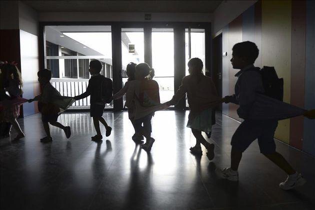 Niños en un