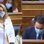 Yolanda Díaz desarma a García Egea en 30 segundos: la escena no para de