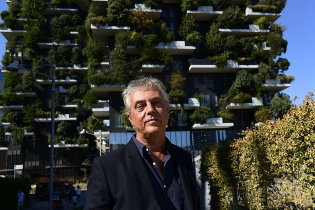 TO GO WITH AFP STORY BY CELINE CORNU - Italian architect and urban planner Stefano Boeri poses on September...