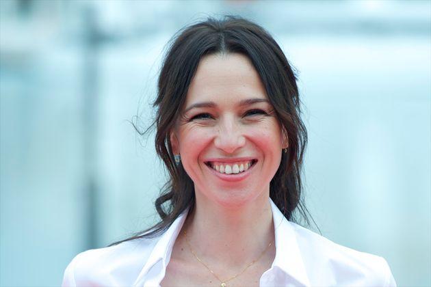 La actriz Ariadna Gil en el Festival de Málaga (foto de