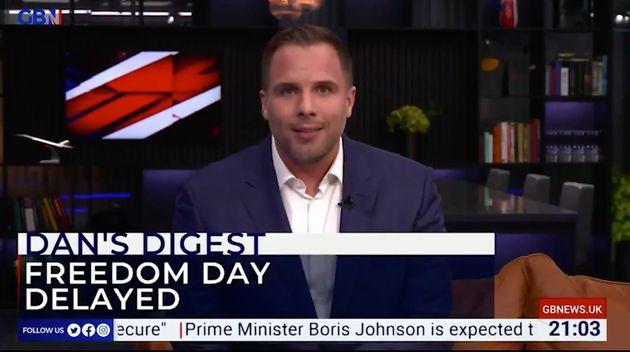 Dan Wootton on GB News