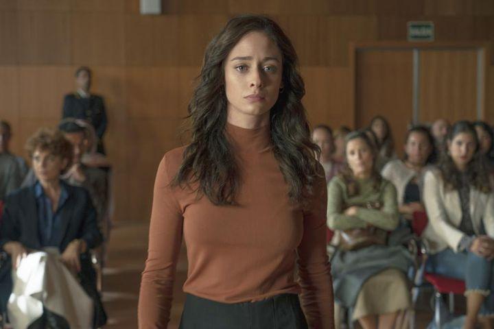 Elena Rivera interpreta a una víctima de una violación en grupo en 'Alba'.
