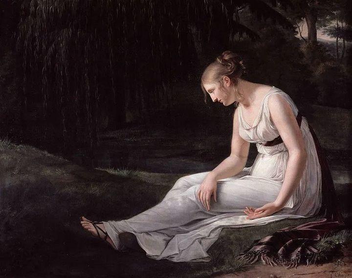 Melancolía (Constance Marie Charpentier, 1801).
