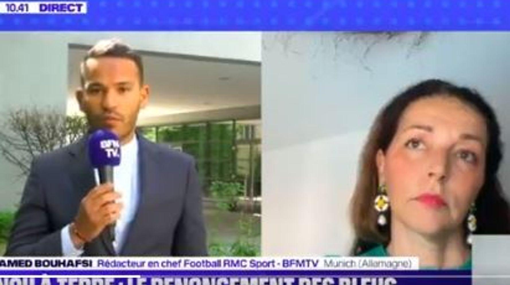 Genou à terre des Bleus: Mohamed Bouhafsi recadre Valérie Boyer et ça ne passe pas inaperçu