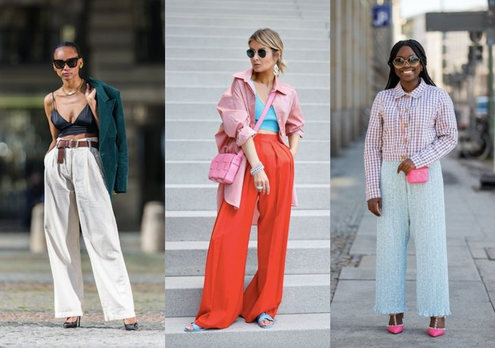 Style influencers have take the volume-boosting silhouette to the streets.