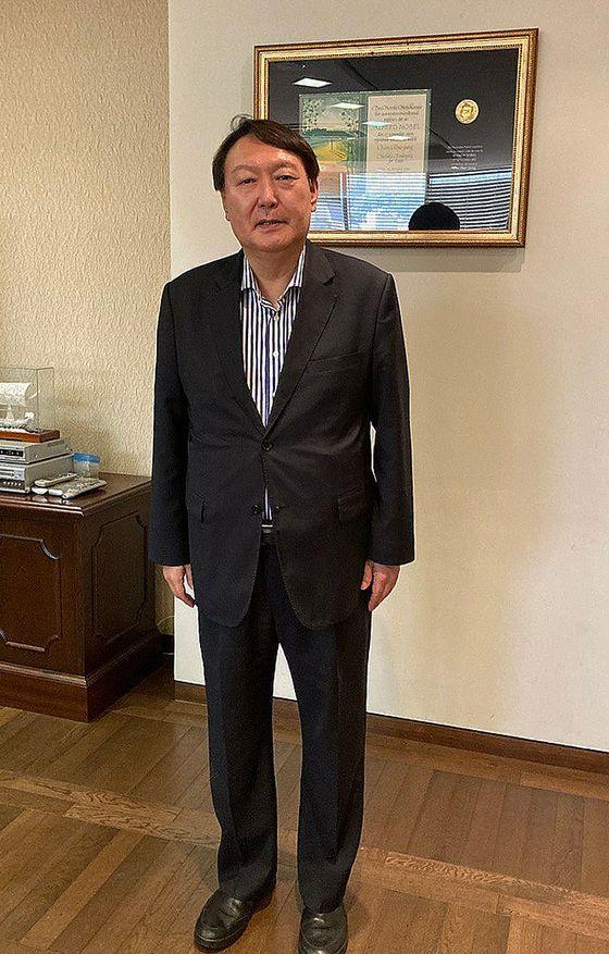 6월 15일 '김대중 도서관'을 찾은 윤석열 전