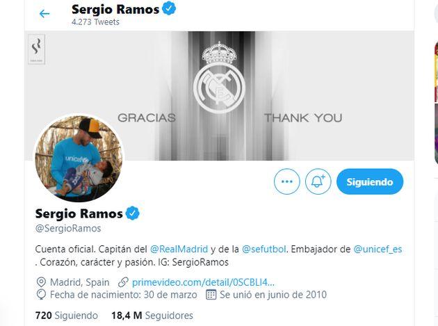 La nueva imagen de Sergio