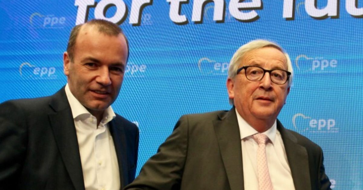 """Juncker e Weber: """"Serve Ue che decida, eurobond si potevano fare 10 anni fa"""" (da Bruxelles, A. Mauro)"""