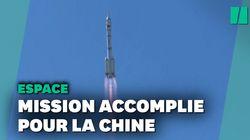 Décollage réussi pour la première mission chinoise habitée dans