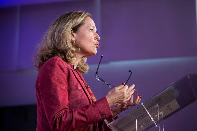 La vicepresidenta segunda del Gobierno y ministra de Economía, Nadia