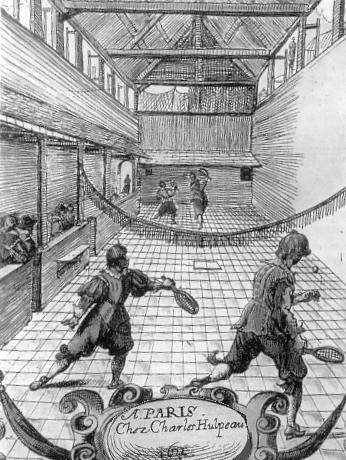 1632 - Γήπεδο τένις στη
