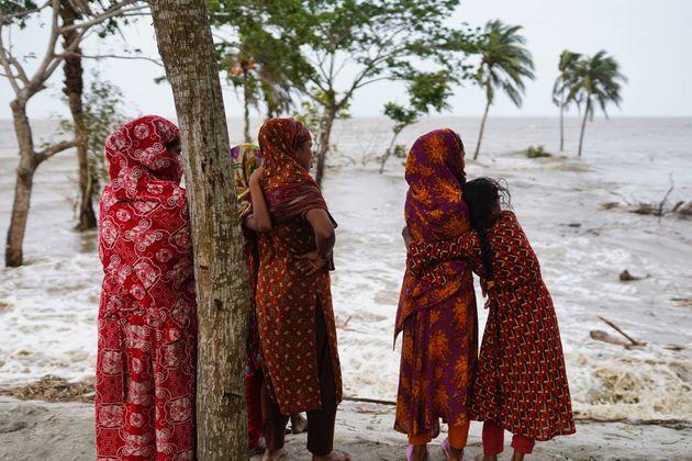 サイクロンに襲われたバングラデシュ(2021年5月26日撮影)