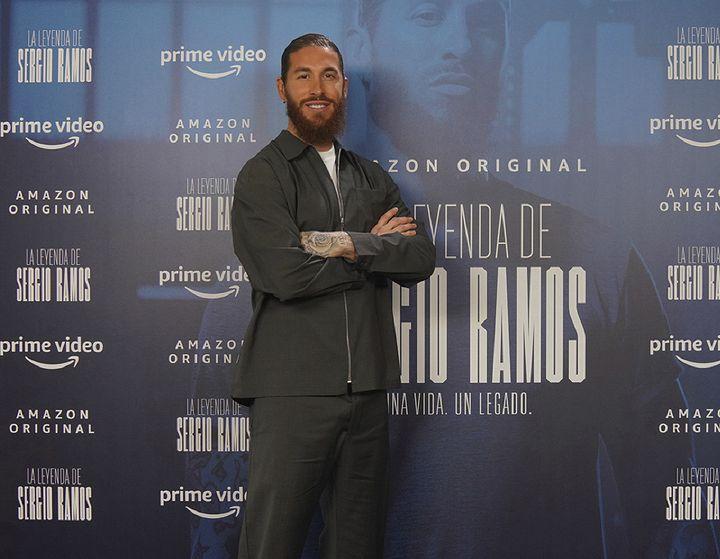 Sergio Ramos en la presentación de su documental, 'La leyenda de Sergio Ramos'
