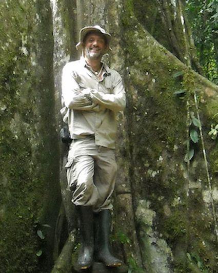 El escritor Fernando Gamboa