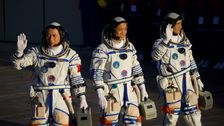 Chinese Spaceship With 3 Astronauts Docks At New Space Station