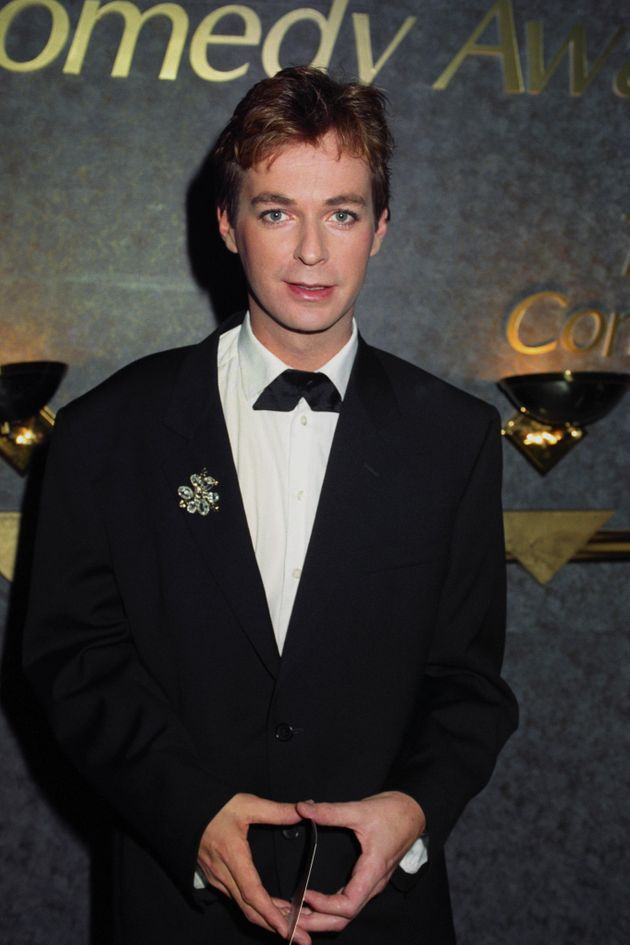 Julian Clary at the British Comedy Awards in