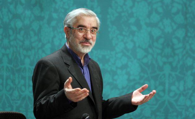 O ηγέτης της αντιπολίτευσης,Μιρ-Χοσεΐν Μουσαβί.