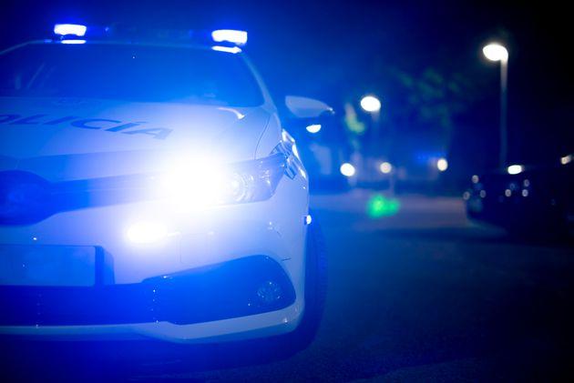 Coche de Policía. Foto de