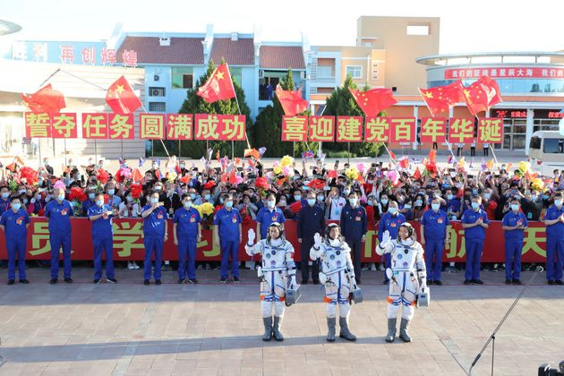 Κινέζοι αστροναύτες