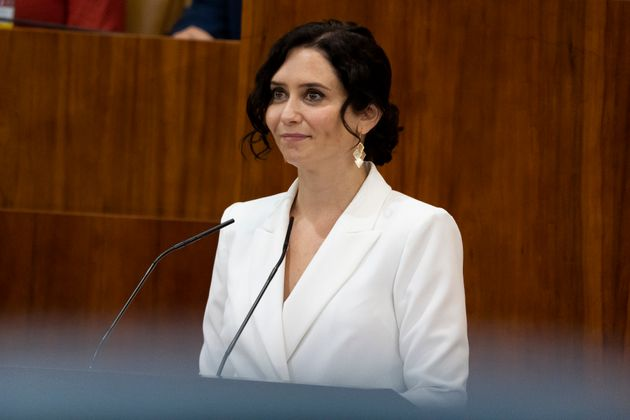 La presidenta en funciones de la Comunidad de Madrid, Isabel Díaz