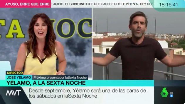Mamen Mendizábal entrevista a José Yélamo en 'Más Vale