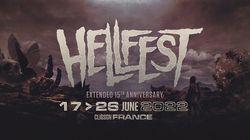 Le Hellfest 2022 verra double avec notamment Metallica en tête