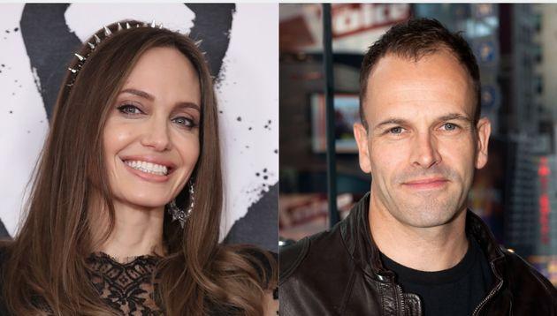Angelina Jolie and Jonny Lee